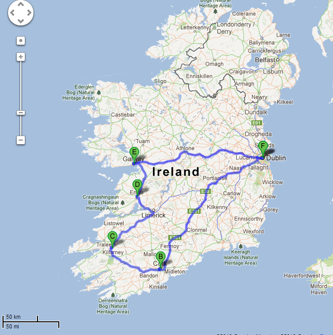 galway to dublin