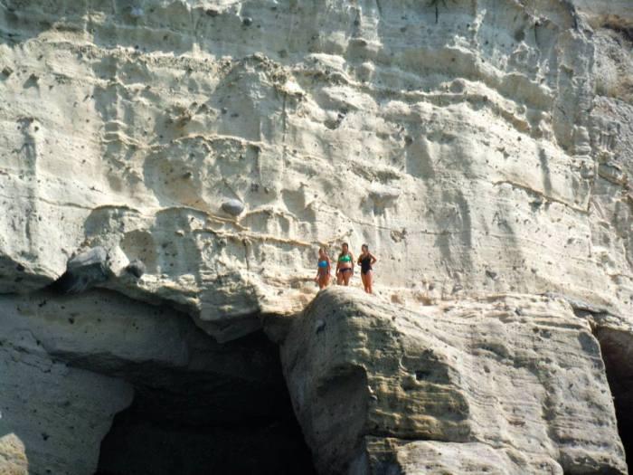 pre cliff jump